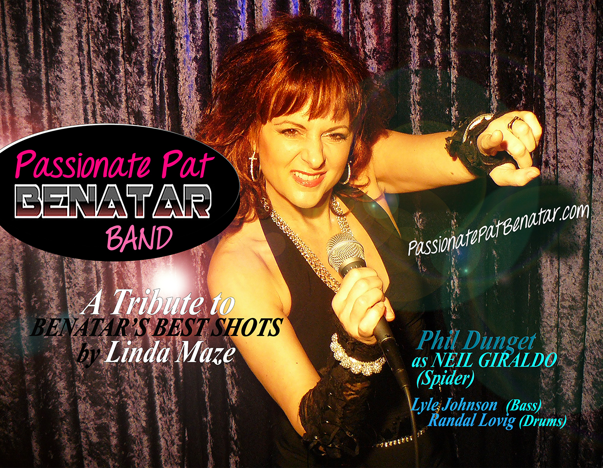 ABOUT Passionate Pat Benatar - A Tribute to Benatar's Best Shots